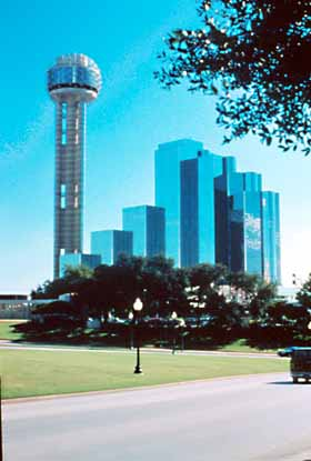 Reunion Tower and Hyatt Regency
